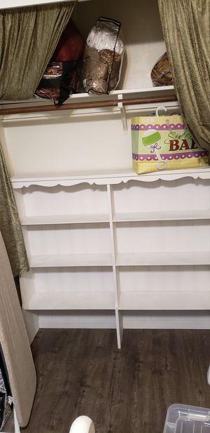 White shelf for Sale in Sanger, CA