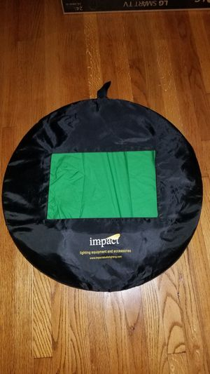 Portable collapsible green screen 8'x16' for photo & video for Sale in Richardson, TX