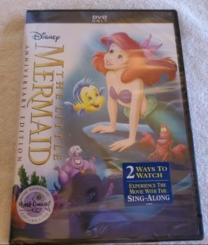 BRAND NEW IN SEALED PACKAGE...DISNEY..THE LITTLE MERMAID..ANNIVERSARY EDITION...THE SIGNATURECOLLECTION..2019 for Sale in Lusby, MD