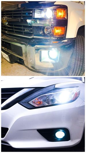 9003/9004/9005/9006/9007/9012 Super bright led headlights/fog lights for any car $25 for Sale in Los Angeles, CA