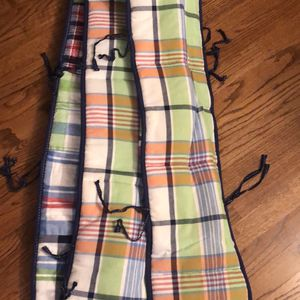 Crib Bumper And Bedskirt for Sale in Roseland, NJ