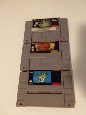 Super Nintendo Games for Sale in Seattle, WA