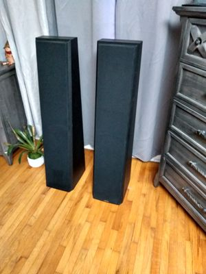 NEAR RARE TOWER LOUDSPEAKERS PAIR for Sale in Los Angeles, CA