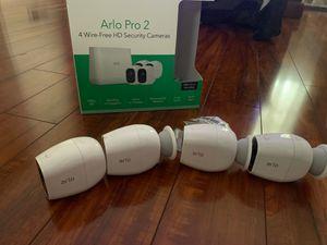 Arlo pro 2 wire-free hd security cameras for Sale in Newport News, VA
