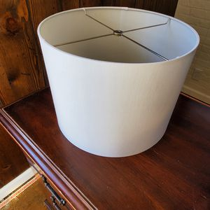 White Lamp Shade for Sale in Lockport, IL