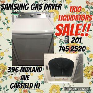 Samsung gas Dryer SALE!! for Sale in Garfield, NJ