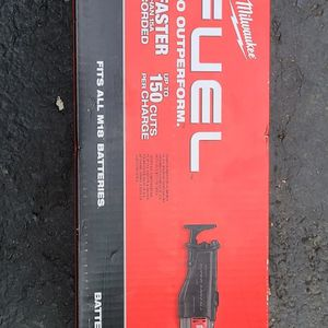 Milwaukee M18 Fuel Super Sawzall for Sale in Boonton, NJ