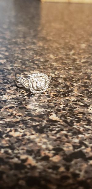 Engagement ring and wedding band for Sale in Richmond, VA