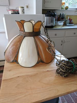 Tiffany Style hanging lamp for Sale in Hampton, VA