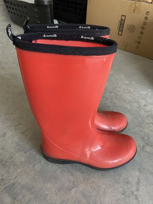 Kamik Rain boots - Size 6 for Sale in Plano, TX