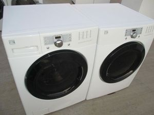 Front load Kenmore washer and front load Kenmore dryer high efficiency for Sale in Arlington, TX