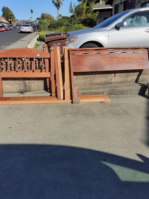 Twin bed and queen size headboard free for Sale in El Sobrante, CA