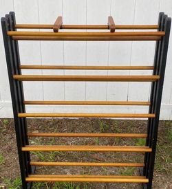Wood CD DVD Media Shoes Clothes Storage Stand Rack for Sale in Chapel Hill,  NC