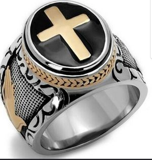 Stainless Steel Mens Ring for Sale in BROOKSIDE VL, TX