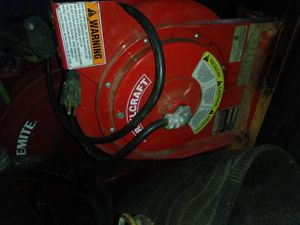 Have a reel craft 110 electric cord reel. Never used. for Sale in Maple Valley, WA