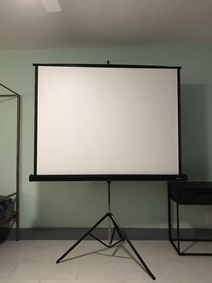 Apollo Projection Screen - foldable! for Sale in Fort Lauderdale, FL