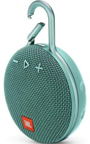 JBL CLIP TEAL Portable Bluetooth/Wireless/Waterproof Speaker for Sale in Torrance, CA