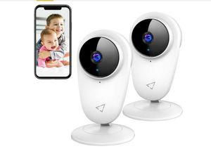 Victure 2pcs 1080P Video Baby Monitor WiFi Camera Home Camera Indoor Pet Security Camera with Night Vision 2-Way Audio Motion Detection for Sale in Rancho Cucamonga, CA
