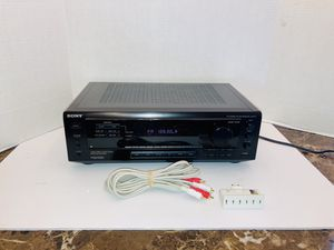 Sony STR-471 Stereo Audio Video 165W Surround Sound Receiver for Sale in Spring Hill, FL