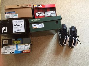 Shoes men's size 8, all new condition, selling $35 each for Sale in Canton, MI