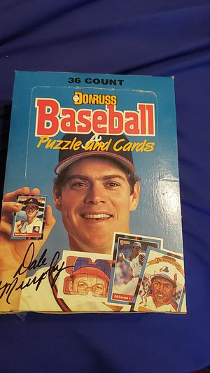 BASEBALL Cards 36 count 1988 Donruss unopened packs. for Sale in Fort Worth, TX