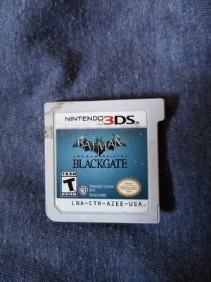 Nintendo 3DS Batman blackgate game works $10 cash 75th avenue and Indian School for Sale in Phoenix, AZ