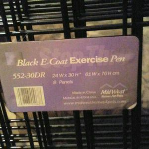 Dog/puppy Exercise/play Yard/cage for Sale in St. Petersburg, FL