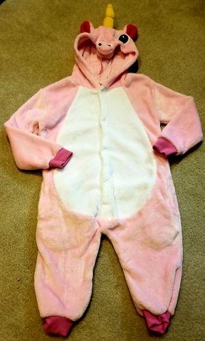 Super warm and soft unicorn jammies/costume for Sale in Puyallup, WA