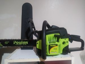 Poulan chainsaw for Sale in Tooele, UT