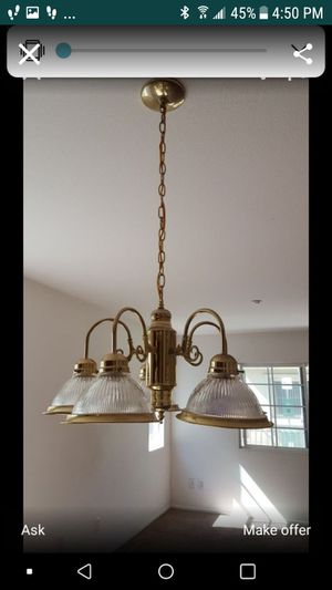 new chandelier in box for Sale in Fontana, CA