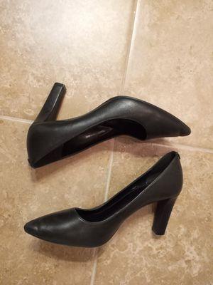 "Michael Kors ""Dorothy"" Black Leather Pumps Sz.8½ for Sale in Addis, LA"