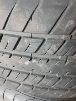 A set of 4 tires with rims for Sale in Port Charlotte, FL