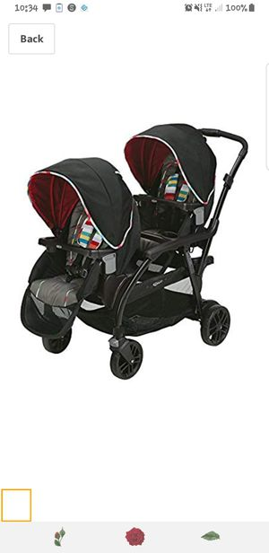 Graco modes duo double stroller for Sale in West Warwick, RI