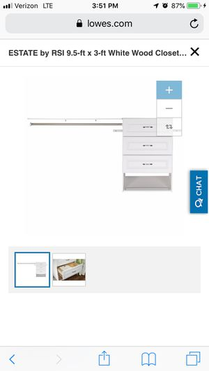 Closet organizer kit for Sale in Downey, CA