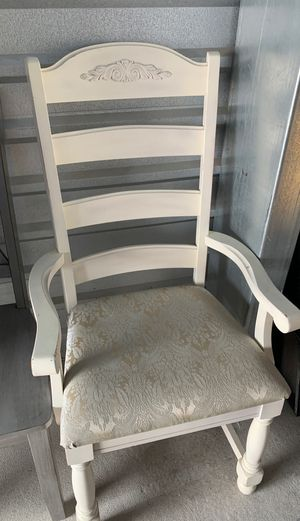 Antique chair chalk painted for Sale in Parker, CO