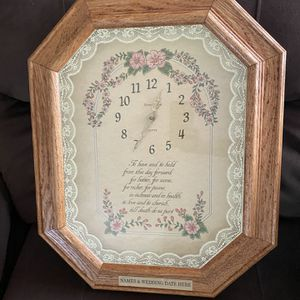 New Wedding Clock for Sale in Windsor, CT