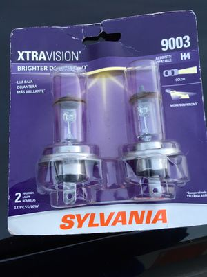 Sylvania 9003 headlights bulbs new for Sale in Salt Lake City, UT