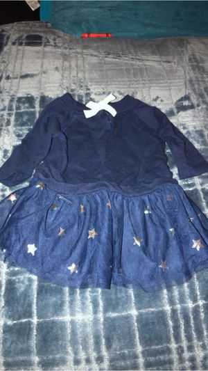 Little dress tutu, color blue , size 6m. for Sale in Willows, CA