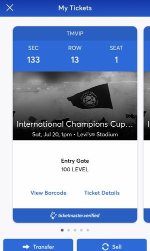 Benfica vs Chivas tickets for Sale in Pittsburg, CA