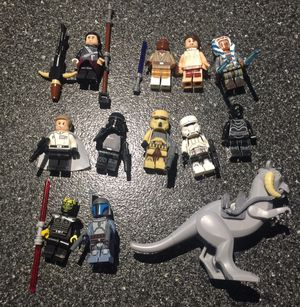Star wars lego compatible mini figure collection for Sale, used for sale  Queens, NY