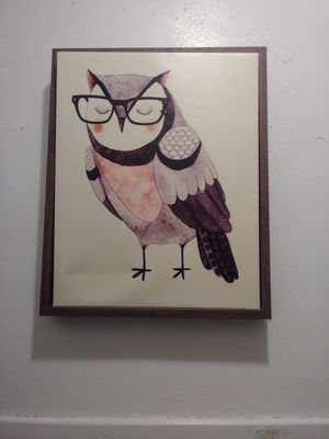 Owl picture for Sale in Chesapeake, VA