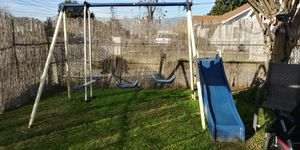 Swing set with slide - pick up rosemead for Sale in Los Nietos, CA