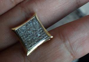 Diamond square earring for Sale in San Antonio, TX
