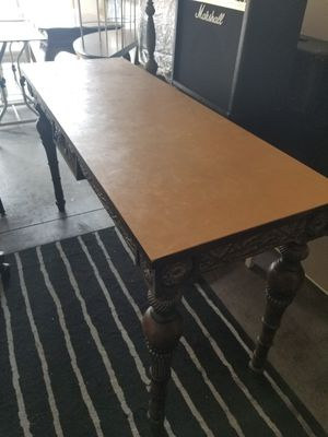 Desk, Table Solid Wood for Sale in Rancho Santa Margarita, CA