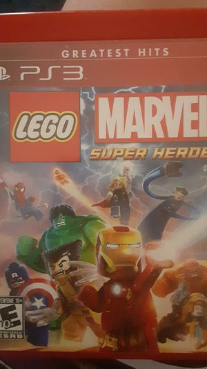 Lego Marvel SuperHeros PS3 for Sale in Charlotte, NC