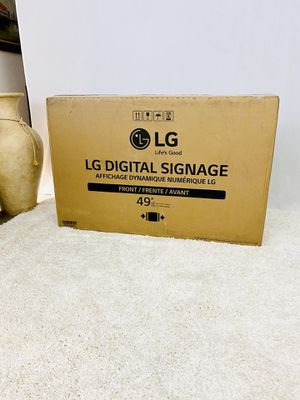 LG Digital Signage Display for Sale in Chicago Ridge, IL