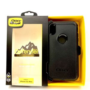 X / Xs / Xr / Xs Max - iPhone OtterBox Case Cover - Defender Series for Sale in Norco, CA
