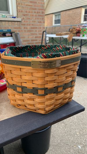 Longaberger 1997 Christmas collection snowflake edition for Sale in Oak Forest, IL