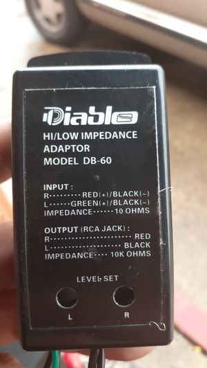 Diablo adapter for cars with no aftermarket stereo for Sale in Dallas, TX