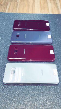 Samsung Galaxy S8 Plus 64GB Factory Unlocked / ATT T-Mobile Verizon Sprint Starting @ for Sale in Arlington,  TX